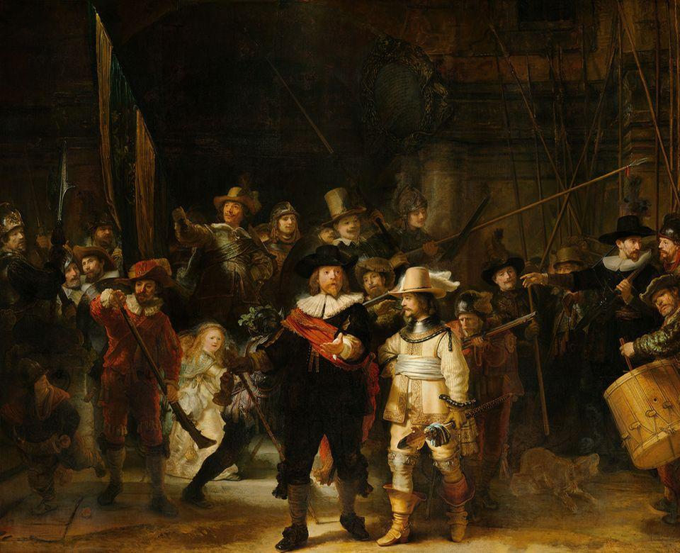 Die Nachtwache von Rembrandt van Rijn