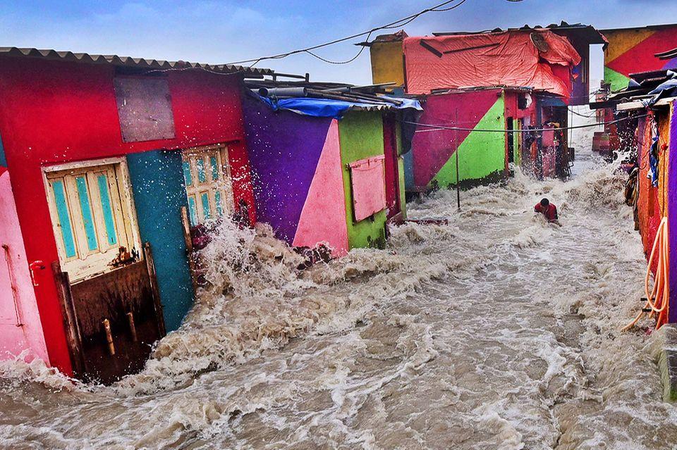 Überschwemmung in Mumbai