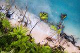 Verwüsteter Strand von Tuvalu