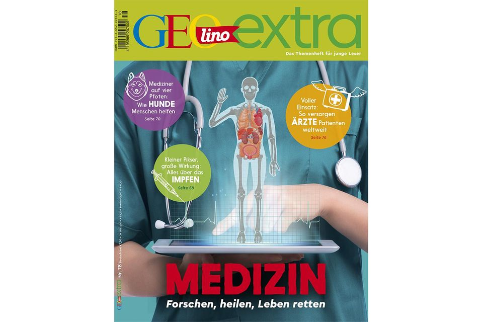GEOlino extra Nr. 78/2019: Medizin: Forschen, heilen, Leben retten