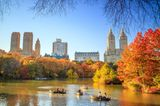 Herbst im Central Park, New York