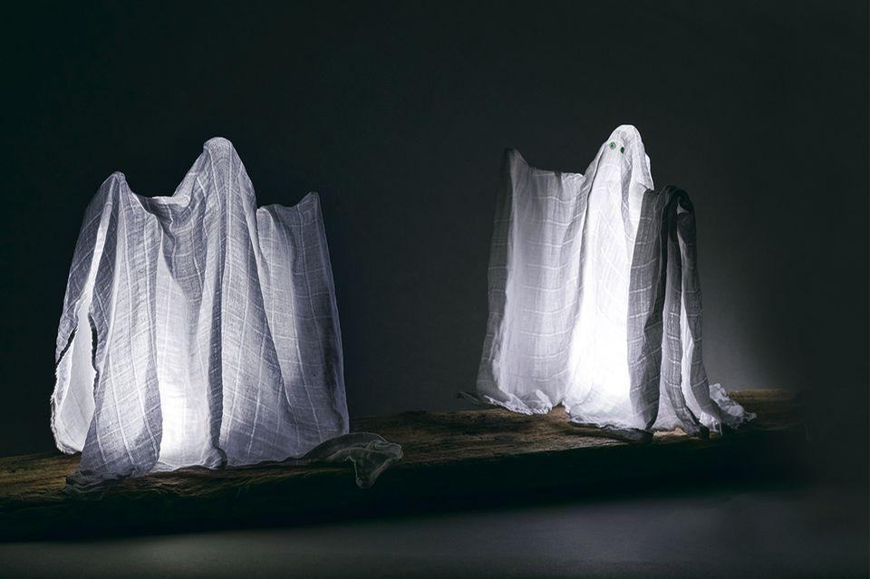 Geister basteln