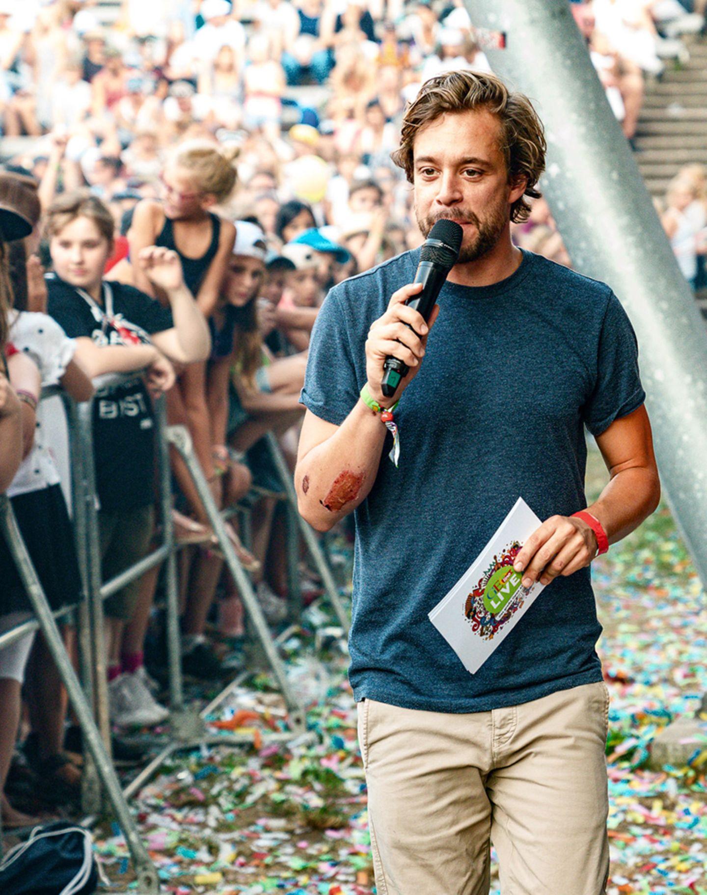 Tobias Krell bei GEOlino LIVE