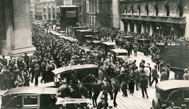 Börsencrash 1919 in New York