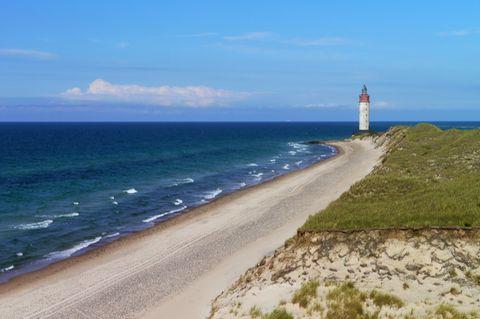 Leuchtturm von Anholt, Dänemark