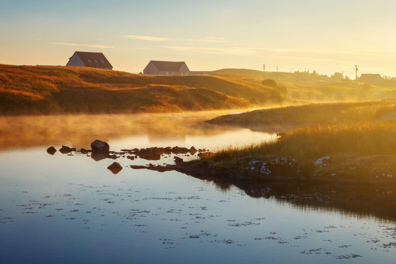 Lochmaddy auf der Isle of North Uist