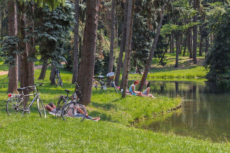 Skaryszewski Park, Warschau
