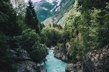 Soca Valley, Slowenien
