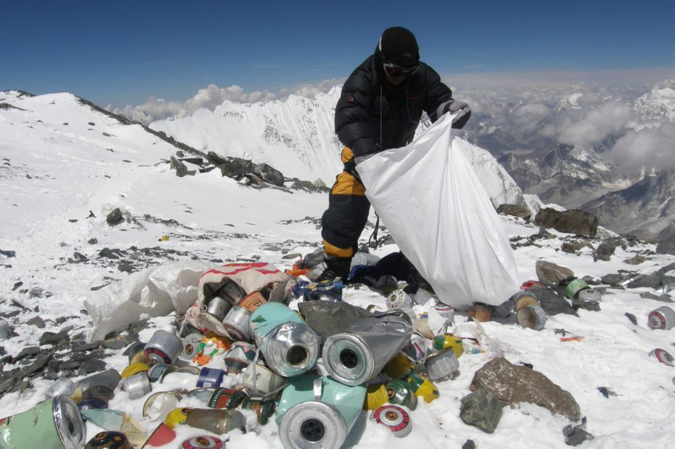 Müll, Mount Everest