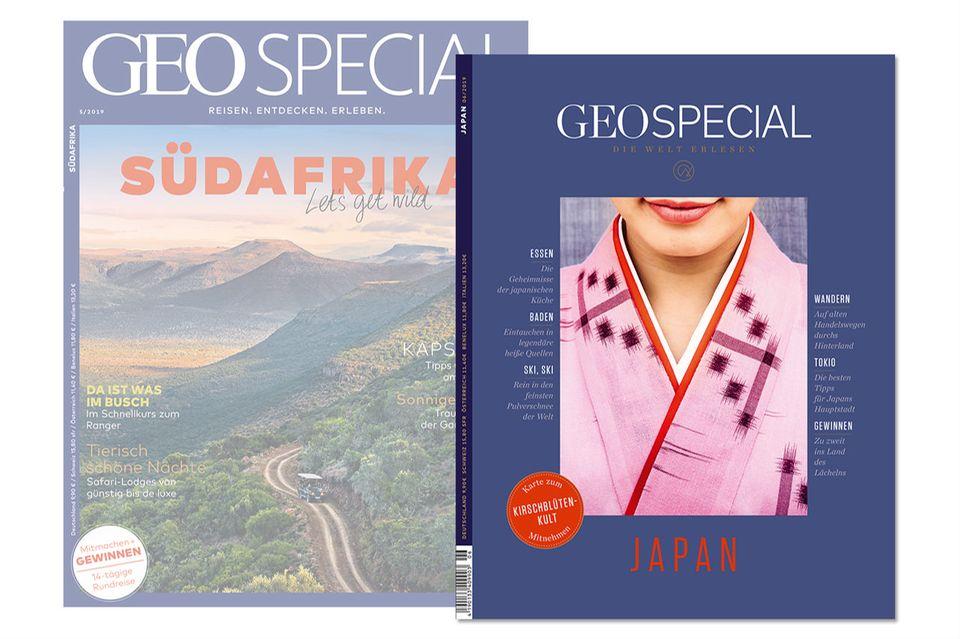 Zeit für Veränderung: Nicht nur das Cover von GEO SPECIAL hat sich deutlich verändert