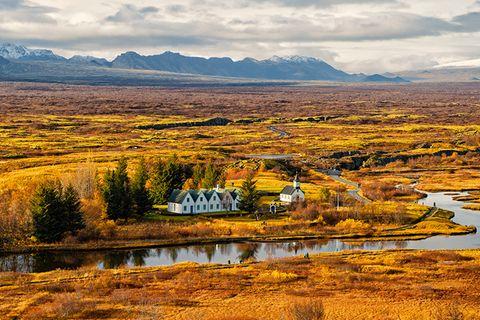 Þingvellir-Nationalpark, Island