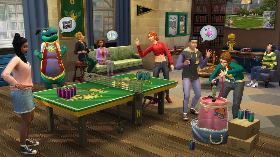 Sims 4 - An die Uni