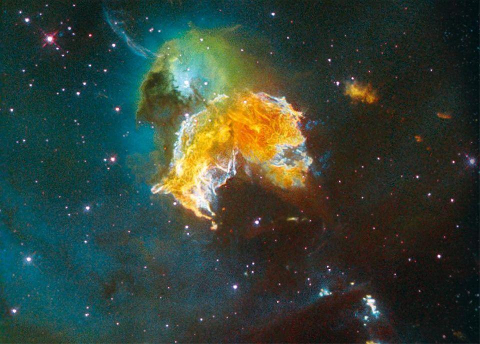Gase einer Supernova