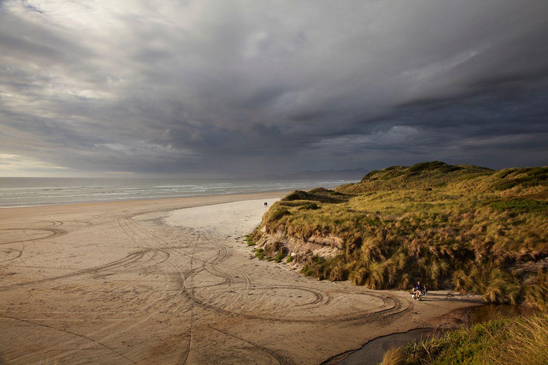 Ocean beach, Tasmanien