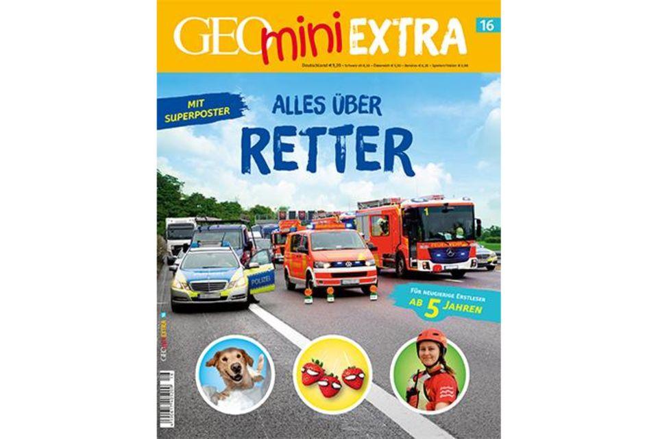 GEOmini Extra Nr. 16: Alles über Retter