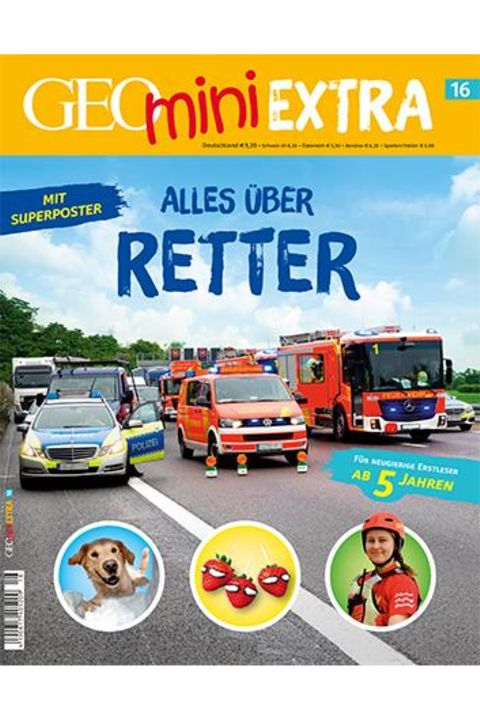 GEOmini Extra Nr. 16: Alles über Retter