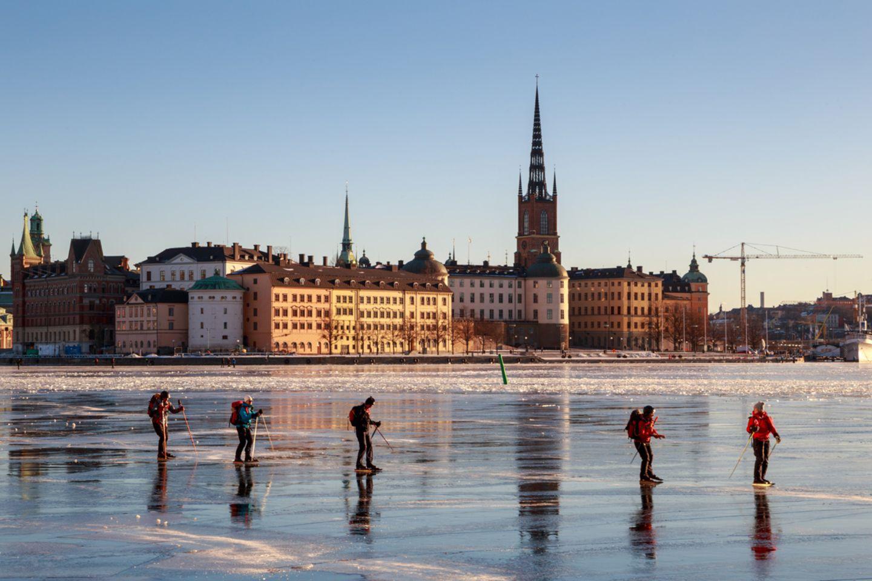 Eislaufen, Stockholm