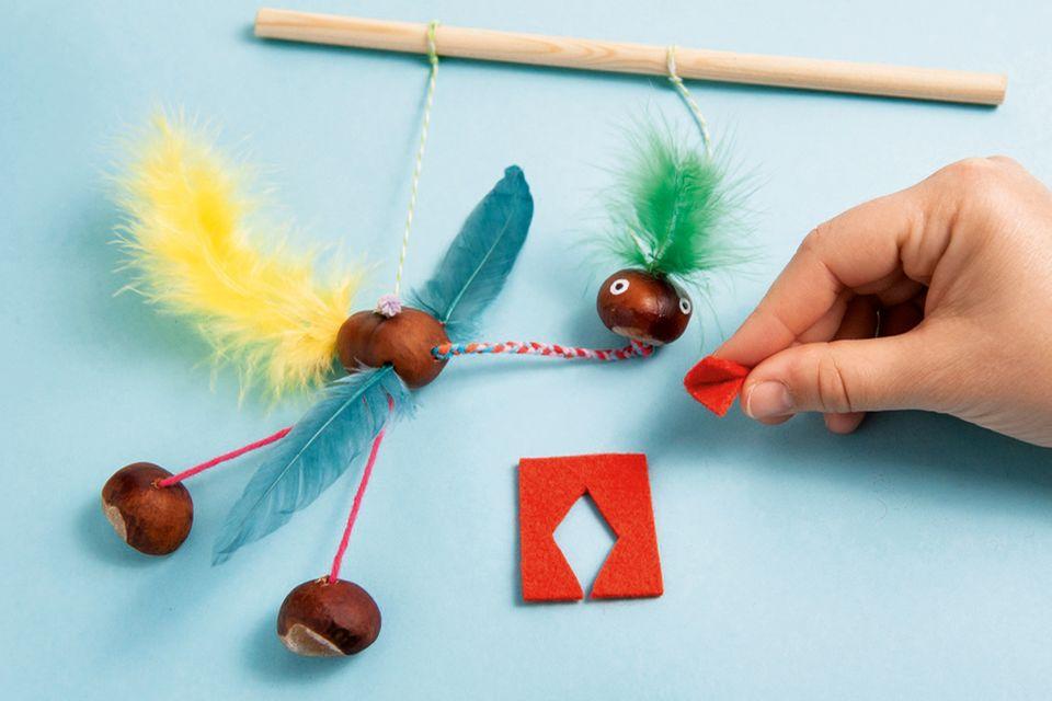Vogel-Marionette