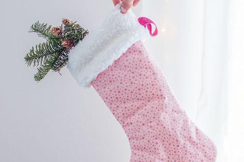 Anleitung: Wir nähen eine Weihnachtssocke