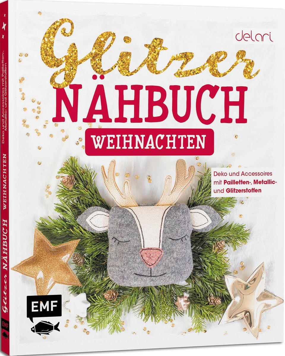 Glitzer-Nähbuch Weihnachten