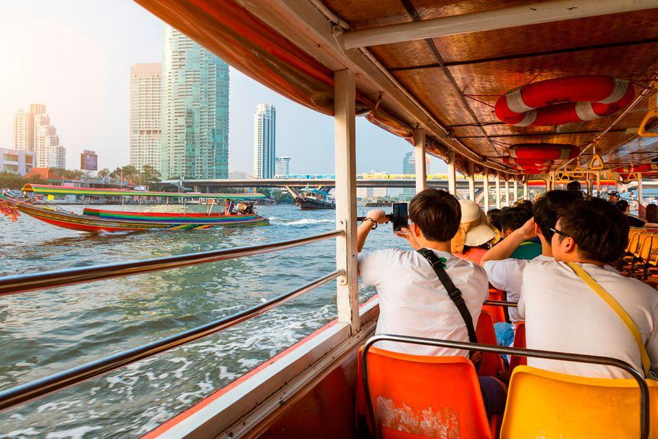Thailand, Bangkok, Chao Phraya
