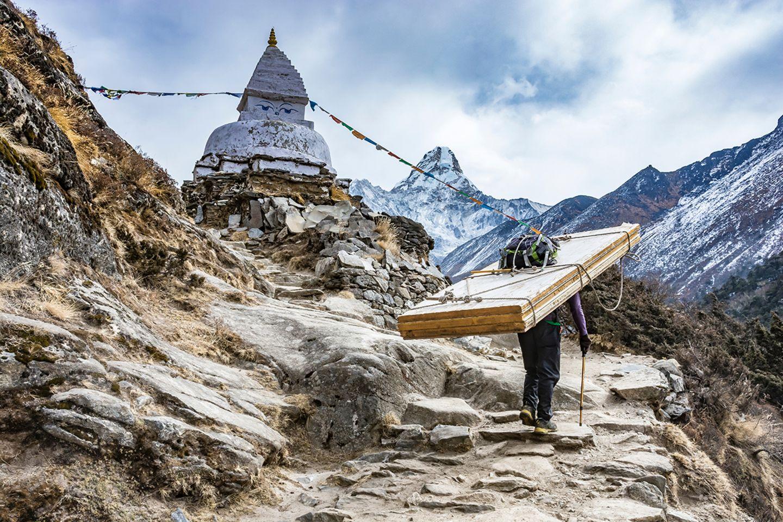 Sherpa im Himalaya
