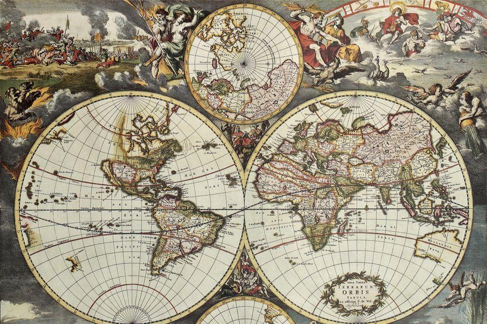 Kartografie Frederick De Wit