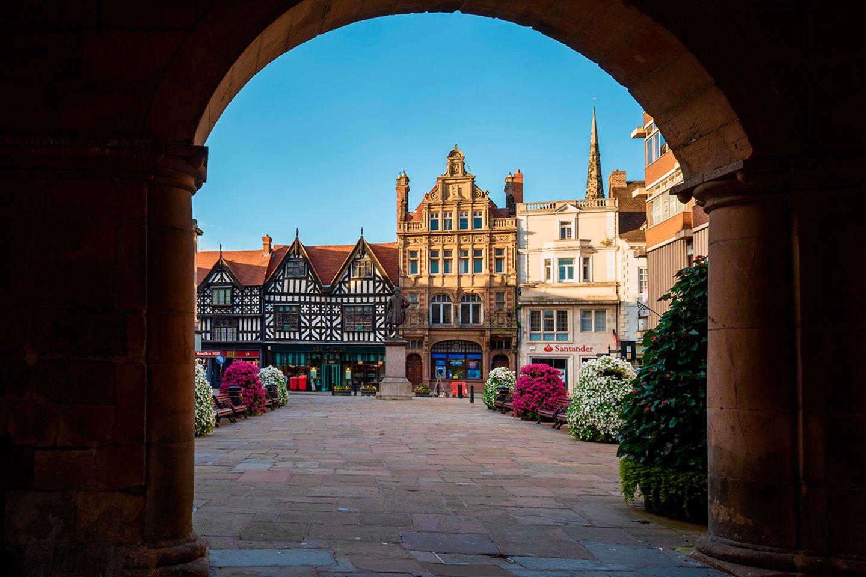 Shrewsbury Square, Shropshire, UK
