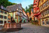 Fachwerkstadt, Deutschland