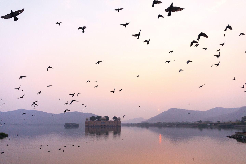 Jaipur, Jal Mahal Palace