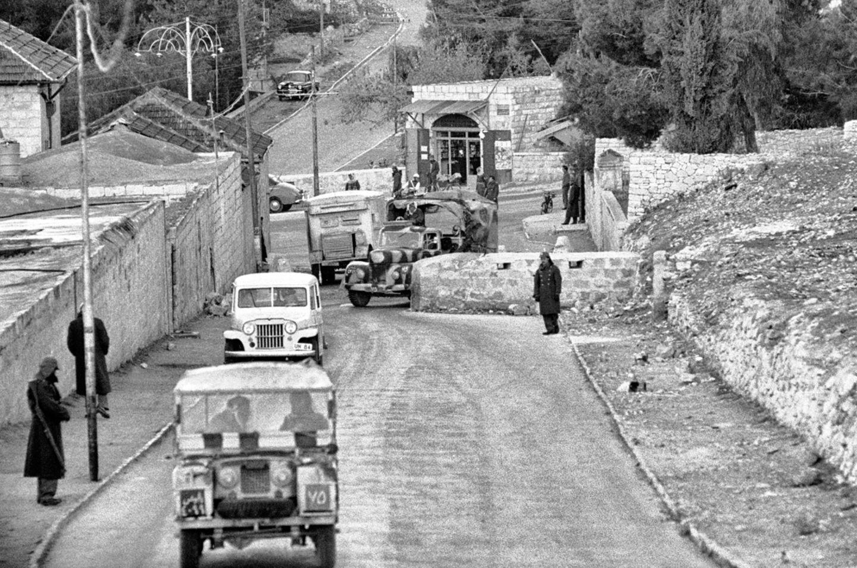 Grenzübergang, Jerusalem