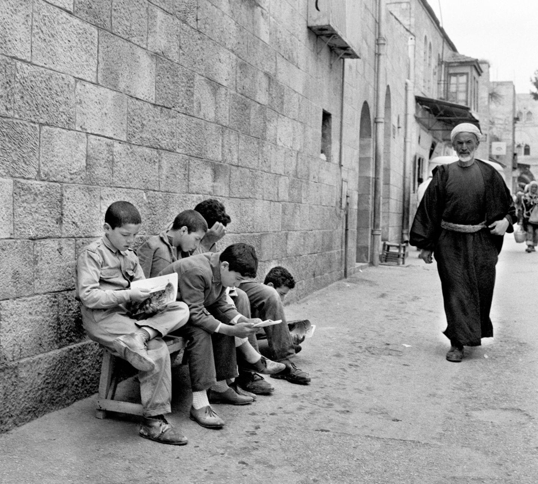 Jungen in Ostjerusalem