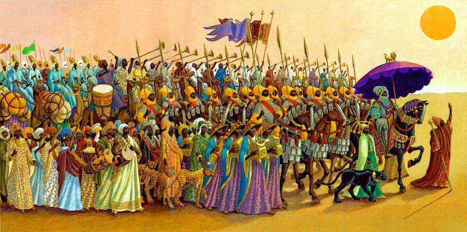 Die Reise des Goldkönigs