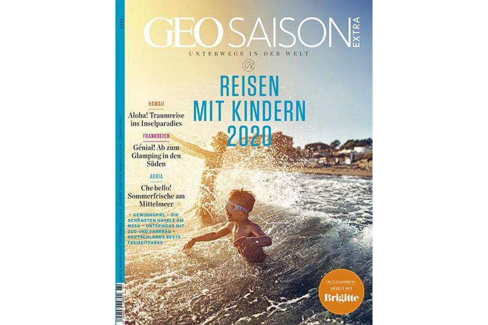 GEO SAISON Extra Nr. 01/2020: Reisen mit Kindern 2020
