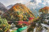 Kurobe Gorge Eisenbahn
