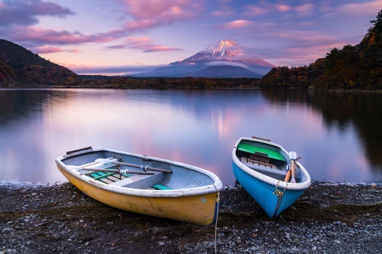 Shoji lake, Fuji