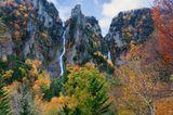 Ginga and Ryusei Wasserfall