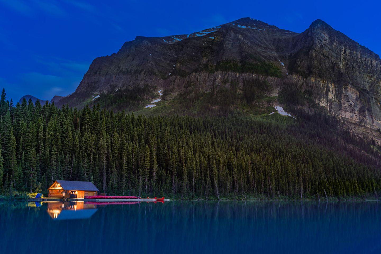 Lake Louise in Kanada