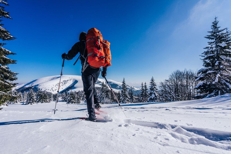 Schneeschuhwandern,  Slowakei