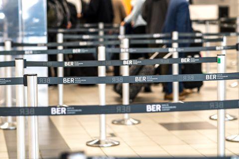 Probelauf Berliner Flughafen