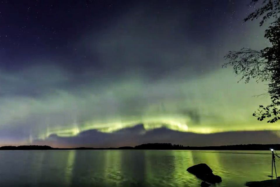"""""""The Dunes"""": Durch Zufall entdeckt: Neue Form des Polarlichts gibt Rätsel auf"""