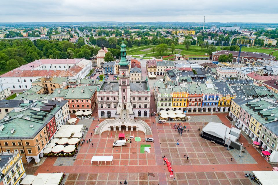 Zamosc, Polen
