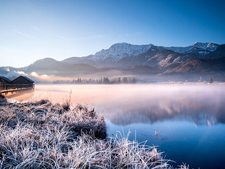 Frost am Kochelsee