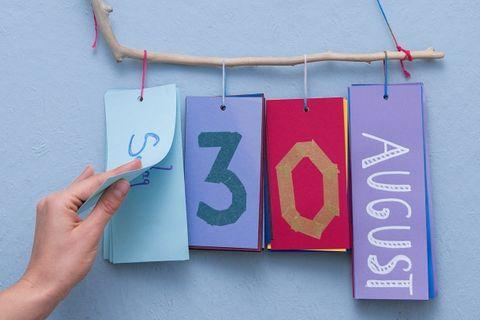 Bastelanleitung: Ewiger Kalender