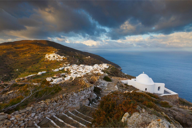 Sikinos, Insel der Kykladen