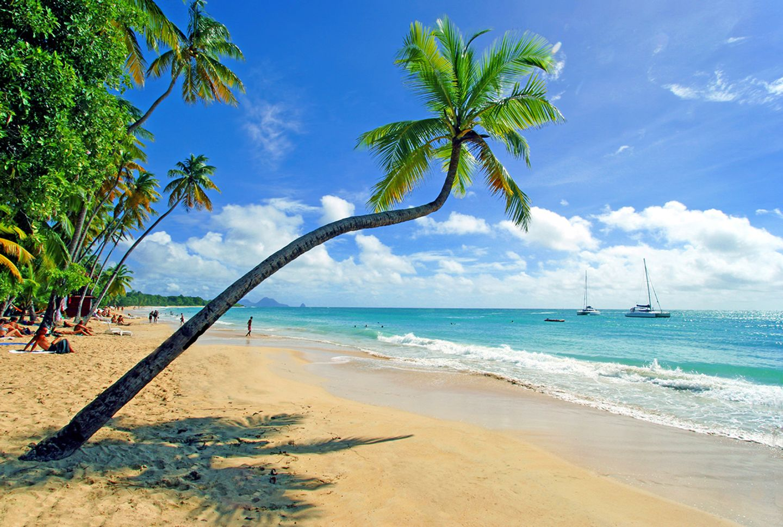 Martinique, Strand der Karibikinsel