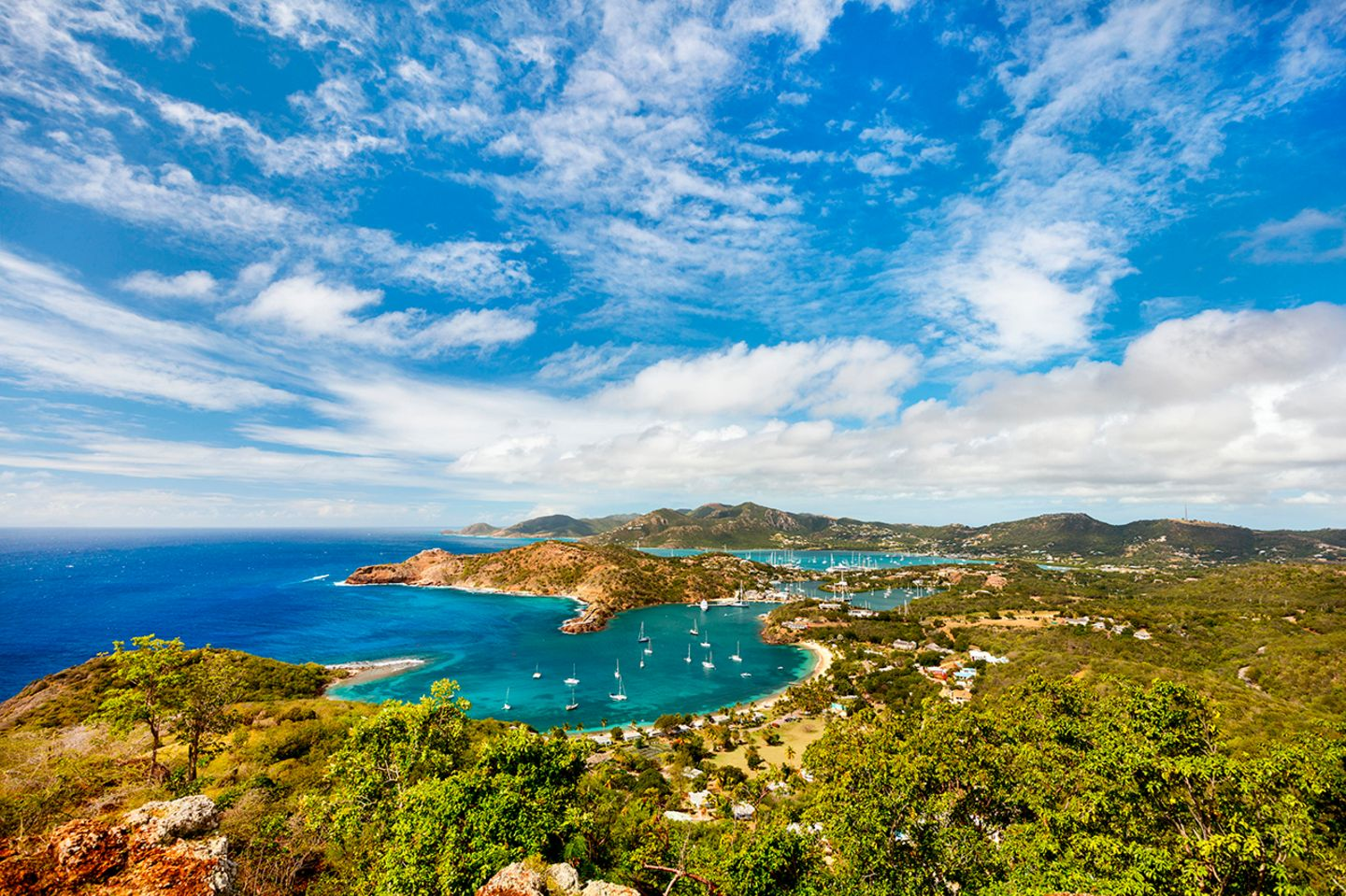 Blick von Shirley Heights, Antigua