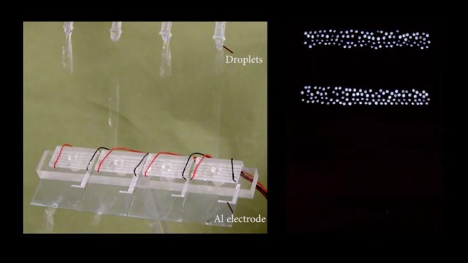Innovation: Forscher erzeugen Strom aus fallenden Wassertropfen