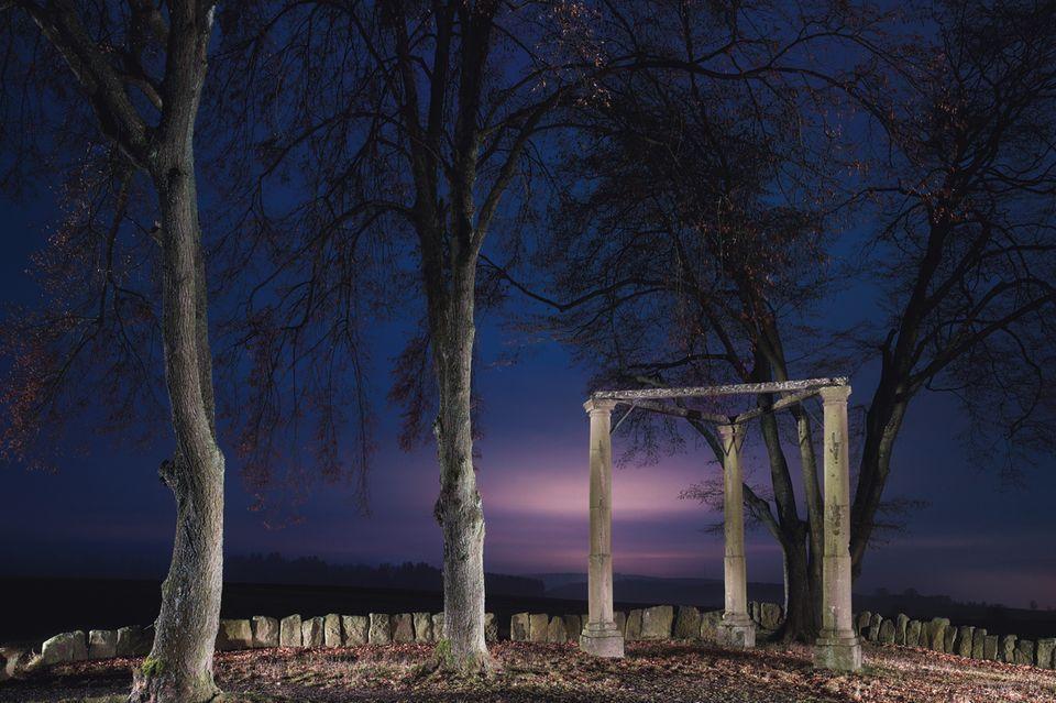 Die Richtstätte von Beerfelden im Odenwald