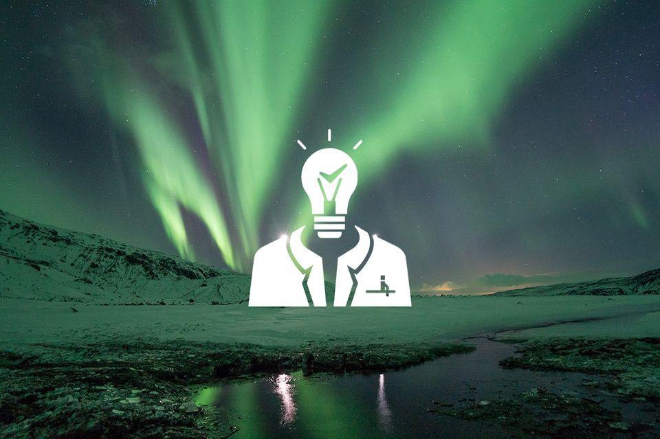 Podcast: Herr Faktencheck über Polarlichter und grüne Dünen